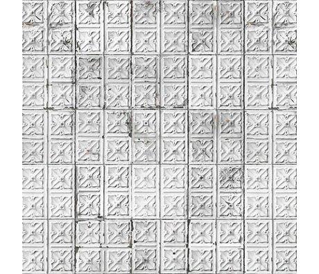 NLXL-Merci Papier peint carrelage Brooklyn Tins Tin-04