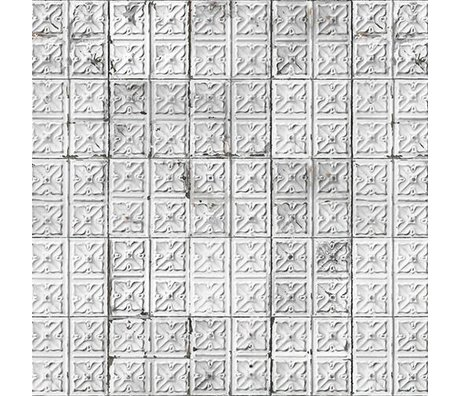 NLXL-Merci Tegel behang Brooklyn Tins Tin-04
