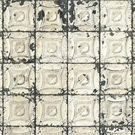NLXL-Merci Tile Boîtes papier peint Brooklyn Tin-01