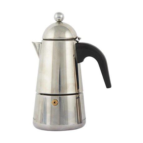 Nicolas Vahe Moka Espresso-Kaffee-grau rostfreiem ø13,2x8,5x19,2cm