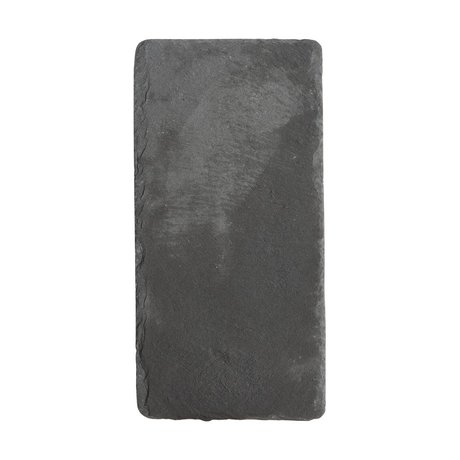 Nicolas Vahe Blackboard slate gray 20x12x0,8cm (set of 6)