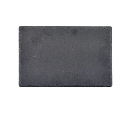 Nicolas Vahe Blackboard slate gray 28x18x0,8cm (set of 6)