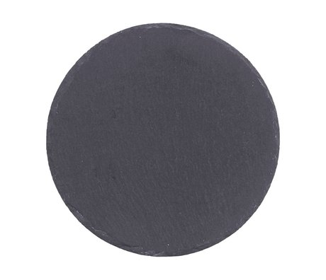 Nicolas Vahe Gray slate plate ø20cm (set of 6)