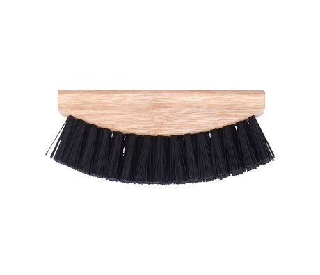 Nicolas Vahe Vegetable Brush bois brun 5x13,5cm plastique