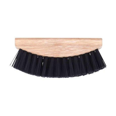 Nicolas Vahe Vegetable Brush brown wood plastic 5x13,5cm