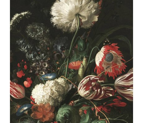 KEK Amsterdam Tapete Golden Age Flowers I mehrfarbiges Vlies 389.6x280cm