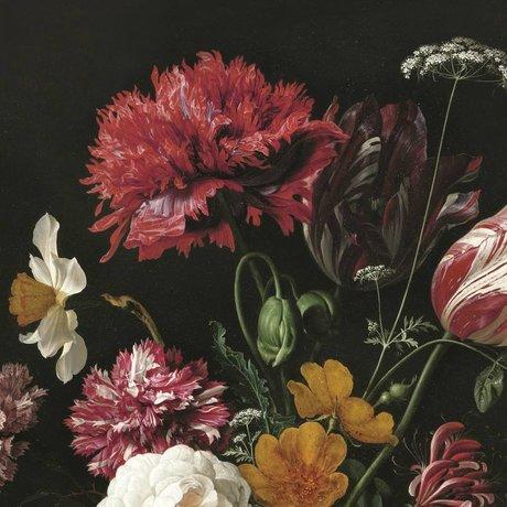 KEK Amsterdam Papier peint intissé Golden Age Flowers II multicolore 389.6x280cm