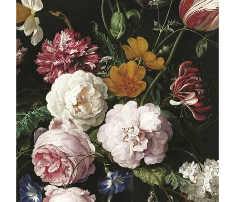 KEK Amsterdam Tapete Golden Age Flowers III mehrfarbiges Vlies 389.6x280cm