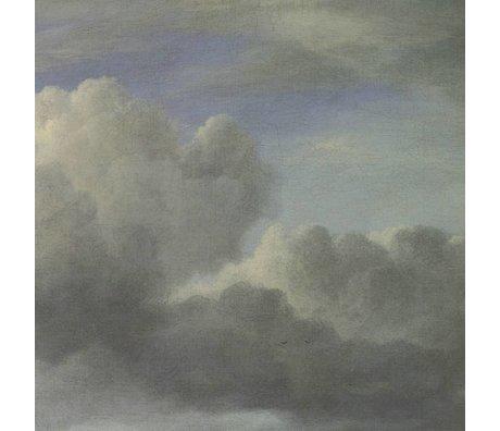 KEK Amsterdam Wallpaper Golden Age Wolken III mehrfarbige Papierbahn 389,6x280cm