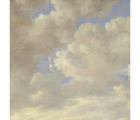 KEK Amsterdam Tapete Golden Age Clouds II mehrfarbiges Vlies 389.6x280cm