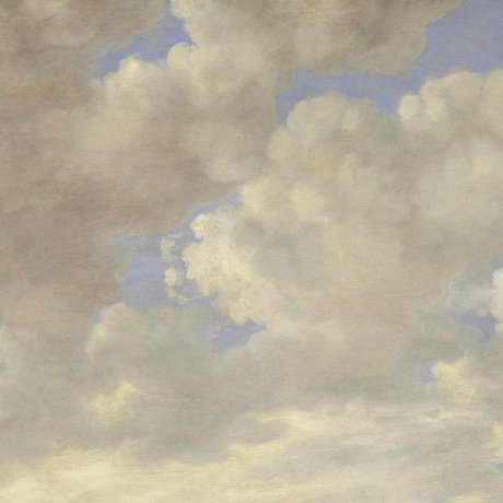 KEK Amsterdam Wallpaper Golden Age Clouds II multicolor non-woven paper 389.6x280cm