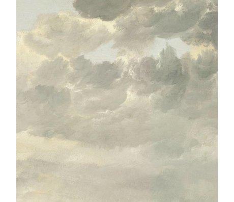 KEK Amsterdam Wallpaper Golden Age Wolken ich mehrfarbige Papierbahn 389,6x280cm