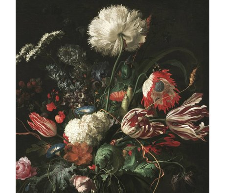 KEK Amsterdam Behang Golden Age Flowers I multicolor vliespapier 292,2x280cm