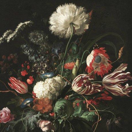 KEK Amsterdam Fond d'écran Golden Age Fleurs I papier multicolore web 292,2x280cm