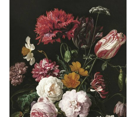 KEK Amsterdam Papier peint intissé Golden Age Flowers II multicolore 292.2x280cm