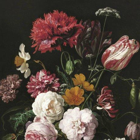KEK Amsterdam Tapete Golden Age Flowers II mehrfarbiges Vliespapier 292,2 x 280 cm