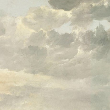 KEK Amsterdam Tapete Golden Age Clouds I mehrfarbiges Vlies 292.2x280cm