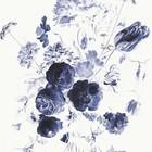 KEK Amsterdam Tapete Königsblau Blumen I mehrfarbiges Vlies 292,2x280cm