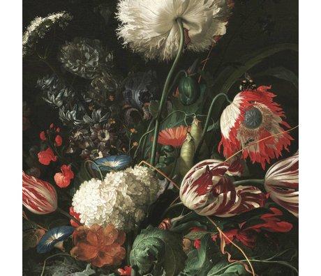KEK Amsterdam Fond d'écran Golden Age Fleurs I papier multicolore web 194,8x280cm
