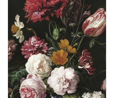 KEK Amsterdam Papier peint intissé Golden Age Flowers II multicolore 194,8x280cm