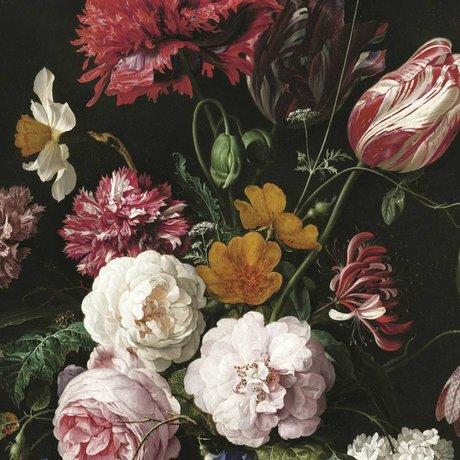 KEK Amsterdam Tapete Golden Age Flowers II mehrfarbiges Vliespapier 194,8x280cm