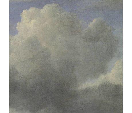 KEK Amsterdam Papier peint intissé Golden Age Clouds III multicolore 194,8x280cm