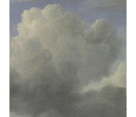KEK Amsterdam Wallpaper Golden Age Clouds III multicolor paper web 194,8x280cm