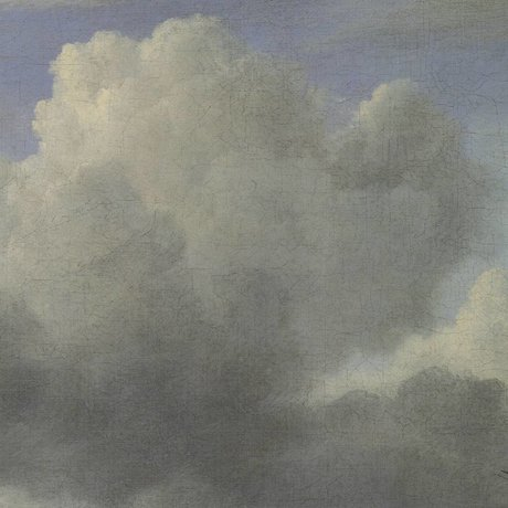 KEK Amsterdam Tapete Golden Age Clouds III mehrfarbiges Vliespapier 194,8x280cm