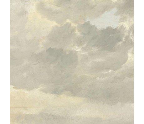 KEK Amsterdam Wallpaper Golden Age Clouds I multicolor paper web 194,8x280cm