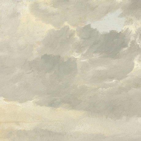 KEK Amsterdam Wallpaper Golden Age Wolken ich mehrfarbige Papierbahn 194,8x280cm