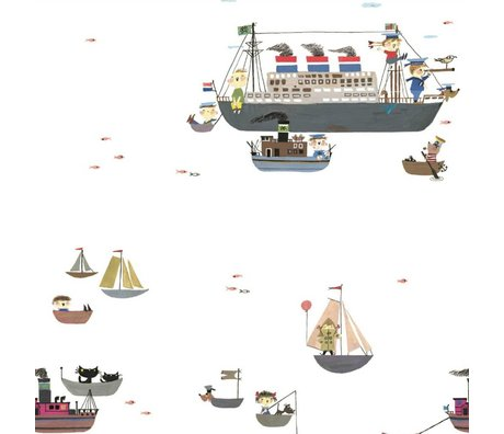 KEK Amsterdam Wallpaper Fiep Westendorp Holland America line multicolor146,1x280cm