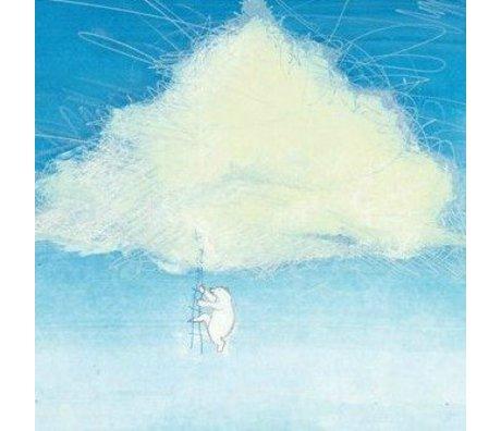 KEK Amsterdam Papier peint Escalade les nuages papier intissé multicolore 389.6x280cm