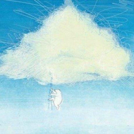 KEK Amsterdam Climbing the clouds wallpaper multicolored fleece paper 389,6x280cm