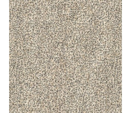 NLXL-Arthur Slenk Tapete 'Remixed 4' Papier 900x48,7cm creme / schwarz