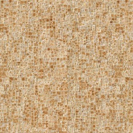 NLXL-Arthur Slenk Behang 'Remixed 2' papier 900x48.7cm creme/bruin