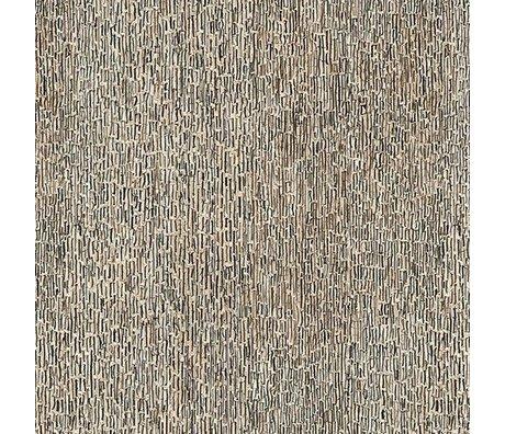 NLXL-Arthur Slenk Behang 'Remixed 8' papier 900x48.7cm creme/zwart