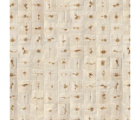 NLXL-Arthur Slenk Wallpaper 'Remixed 6' paper 900x48.7cm cream / brown