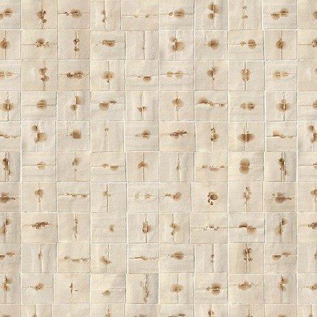 NLXL-Arthur Slenk Behang 'Remixed 6' papier 900x48.7cm creme/bruin