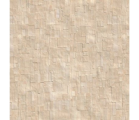 NLXL-Arthur Slenk Wallpaper 'Remixed 1' paper 900x48.7cm cream-white