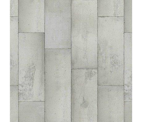 NLXL-Piet Boon Behang betonlook concrete1, grijs, 9 meter