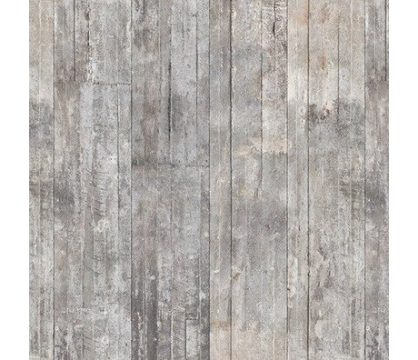 NLXL-Piet Boon Fond d'écran regard concret concrete2, gris, 9 mètres
