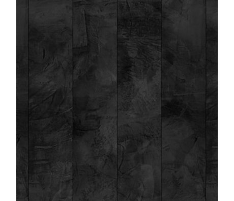 NLXL-Piet Boon Wallpaper concrete look concrete7, black, 9 meters