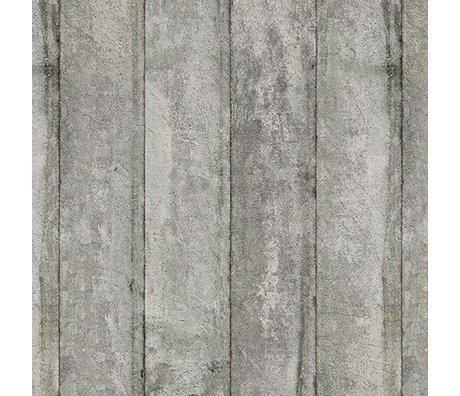 NLXL-Piet Boon Tapete Betonoptik Beton3, grau, 9 Meter