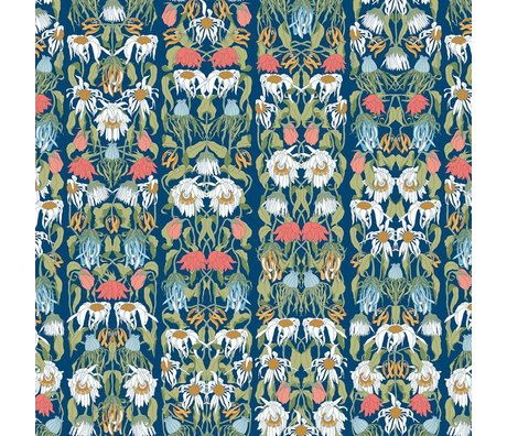 "NLXL-Studio Job Wallpaper ""Verwelkte Blumen Farbe 07"" Papier 900x48.7cm"