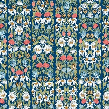 """NLXL-Studio Job Wallpaper """"flétri fleurs couleur 07"""" papier 900x48.7cm"""