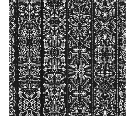 "NLXL-Studio Job Wallpaper ""Perished 03"" papier 900x48.7cm noir / blanc"