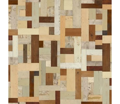 NLXL-Piet Hein Eek Demolition Wood Wallpaper 06