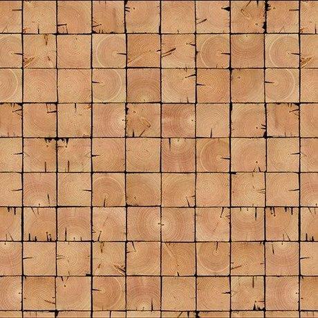 NLXL-Piet Hein Eek Papier peint 'Scrapwood 09' papier brun 900 x 48,7 cm