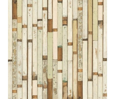 NLXL-Piet Hein Eek Demolition Holz Wallpaper 01