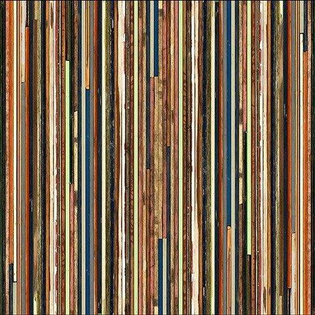 NLXL-Piet Hein Eek Behang 'Sloophout 15' papier multicolor 900 x 48,7 cm